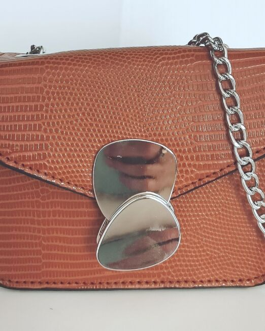 borsetta tracolla argento